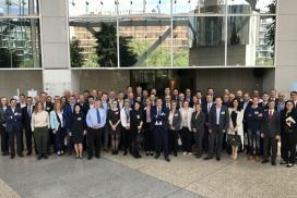 La Fundación del Hidrógeno de Aragón y CAF muestran en Bélgica las aplicaciones de este combustible alternativo en el sector ferroviario