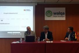 Presentamos en Walqa la Estrategia Aragón Industria 4.0 y nuestra web