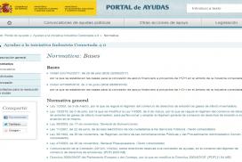 Bases reguladoras para la concesión de ayudas dirigidas a proyectos de I+D en el ámbito de industria 4.0