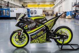 La primera motocicleta eléctrica Fabricada en impresión 3D