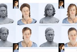 Captura y representación 3D de geometrias complejas para personajes virtuales