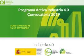 """PLAZO AMPLIADO. Convocatoria para la concesión de ayudas dirigidas a impulsar la transformación digital de la industria española en el marco del proyecto """"Industria Conectada 4.0"""", en Aragón."""
